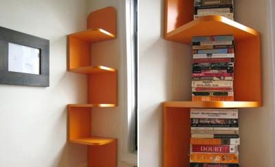 Neviditelne policky na knihy